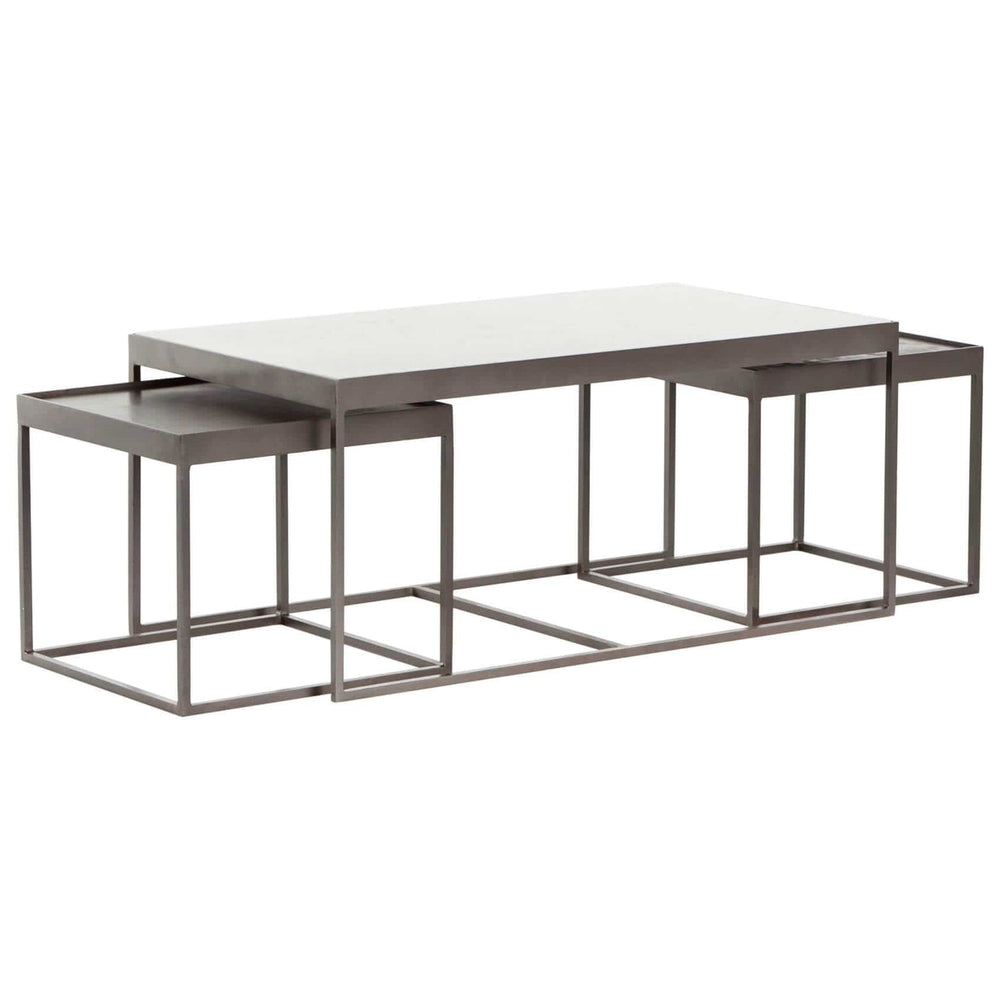 Evelyn Nesting Coffee Table - Modern Furniture - Coffee Tables - High Fashion Home
