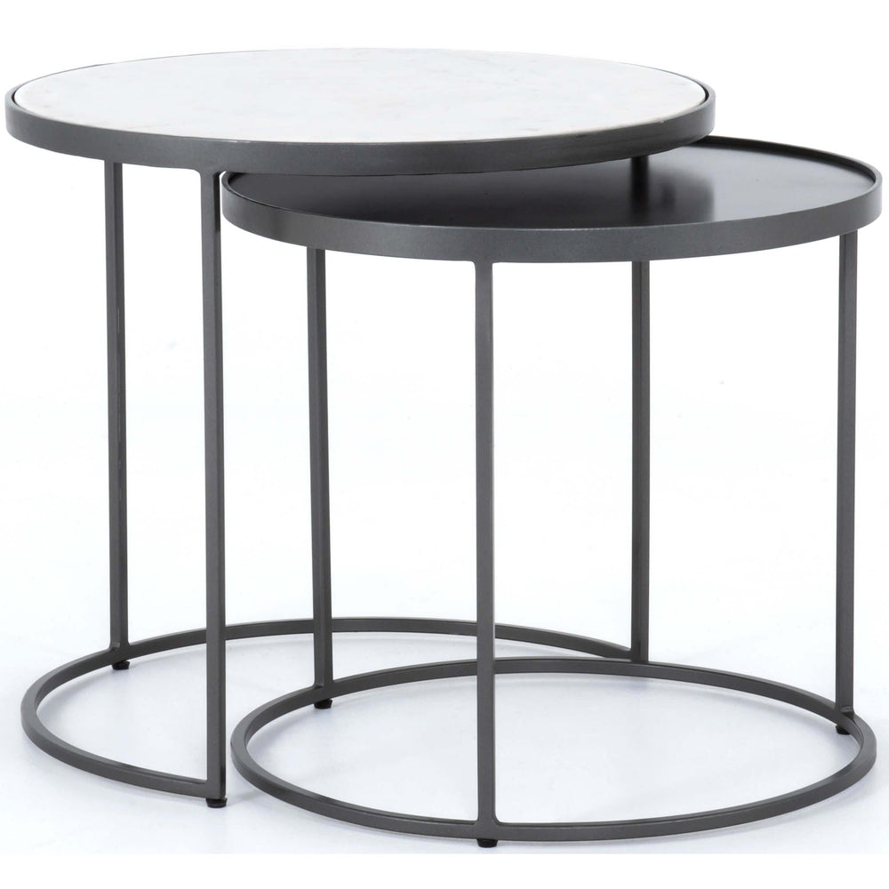 Evelyn Round Nesting End Table