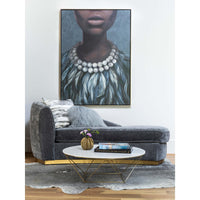 Evening Dress Framed - Accessories Artwork - High Fashion Home