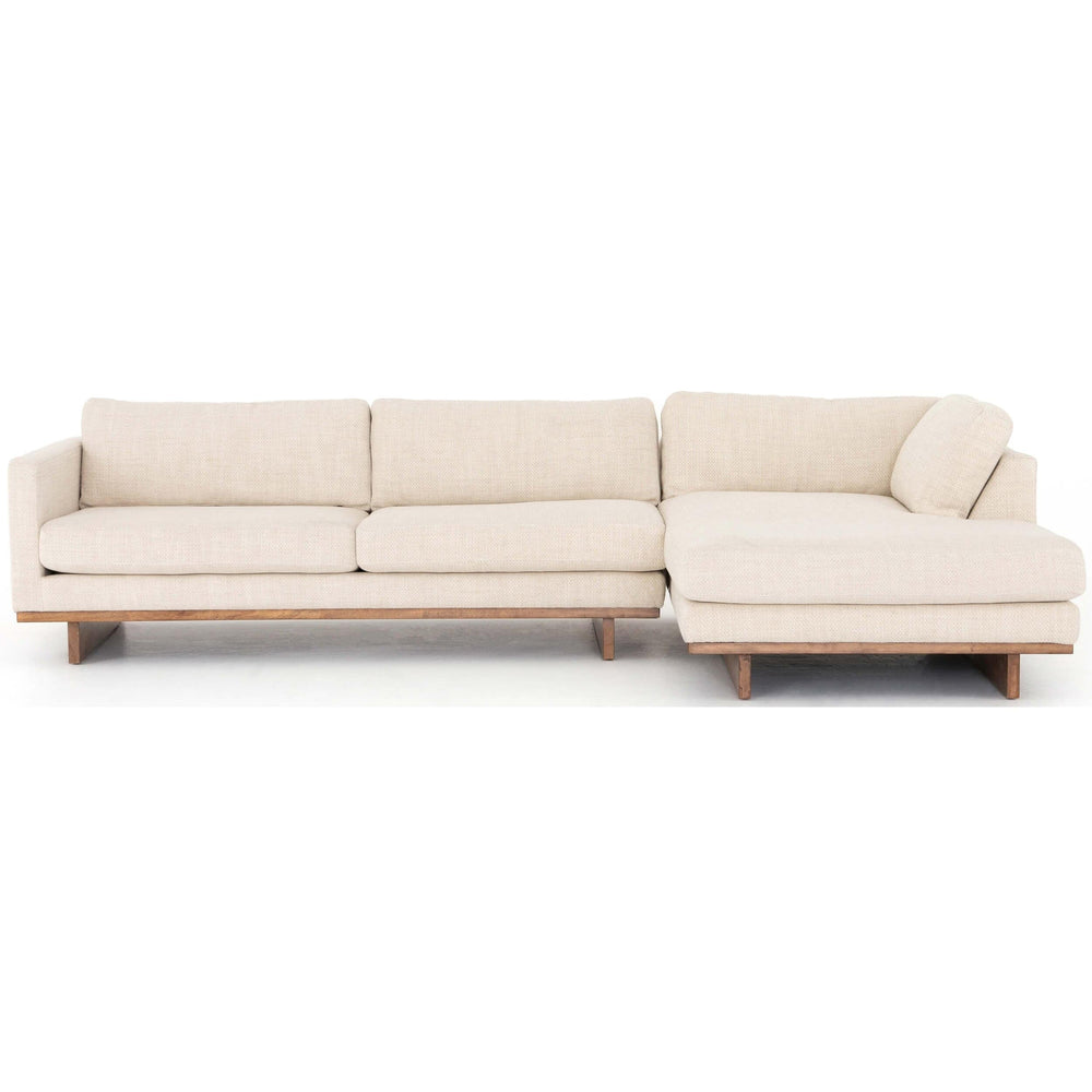 Everly RAF Sectional - Modern Furniture - Sectionals - High Fashion Home
