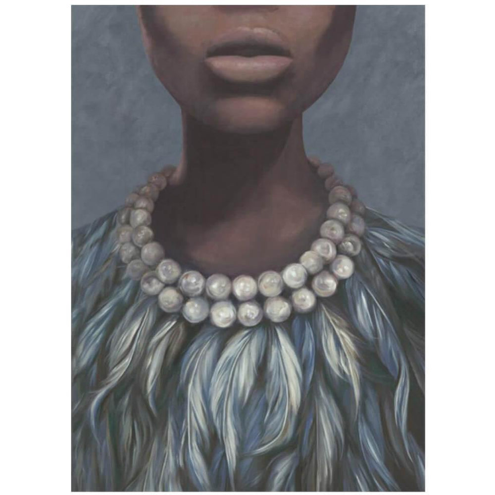 Evening Dress  - Accessories - Canvas Art - People