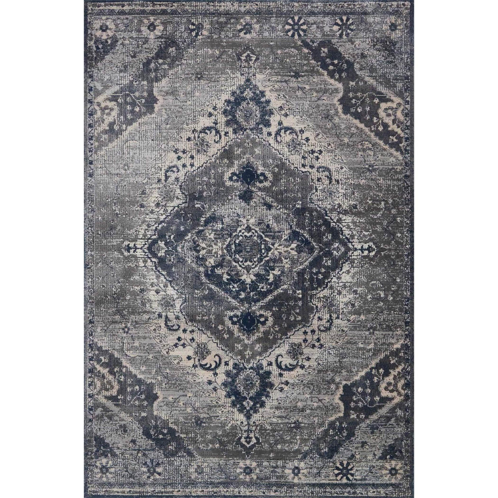Loloi Magnolia Home Rug Everly VY-07 Silver/Grey - Rugs1 - High Fashion Home