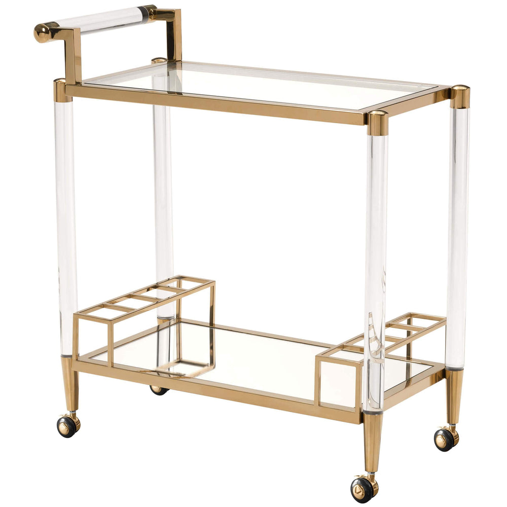 Existential Bar Cart - Furniture - Accent Tables - High Fashion Home