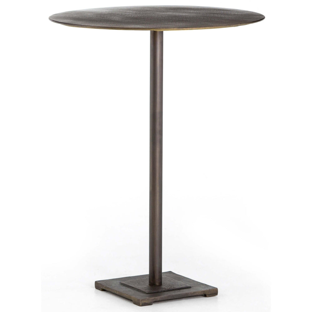 Fannin Bar Table, Aged Brass - Modern Furniture - Dining Table - High Fashion Home