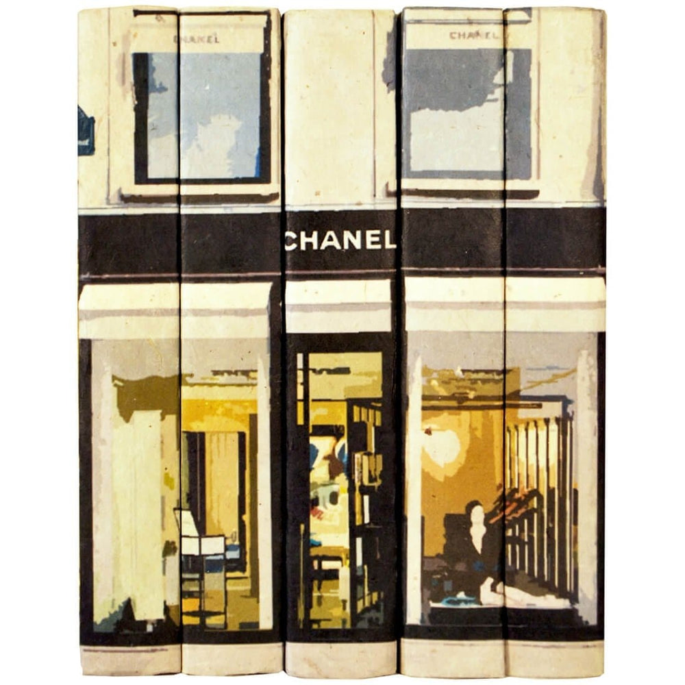 Fashion Stack of Books, Chanel - Gifts - High Fashion Home