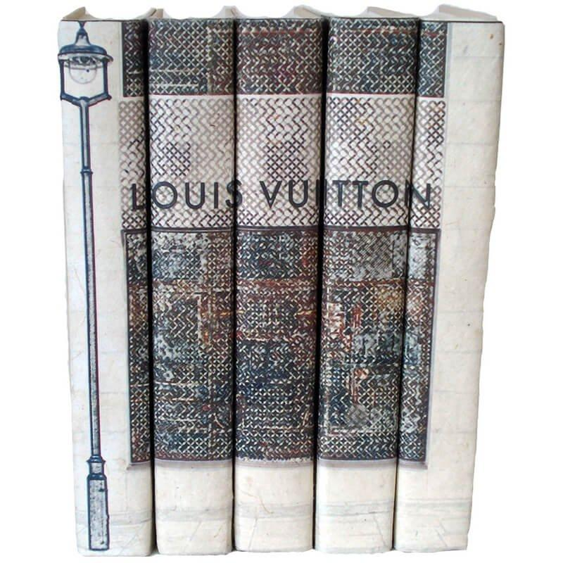 Fashion Stack of Books, Louis Vuitton - Gifts - High Fashion Home