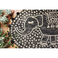 Loloi Rug Fante FAN-01, Charcoal - Accessories - Rugs - Loloi Rugs
