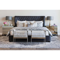 Diamond Coverlet Set, Ivory - Accessories - High Fashion Home