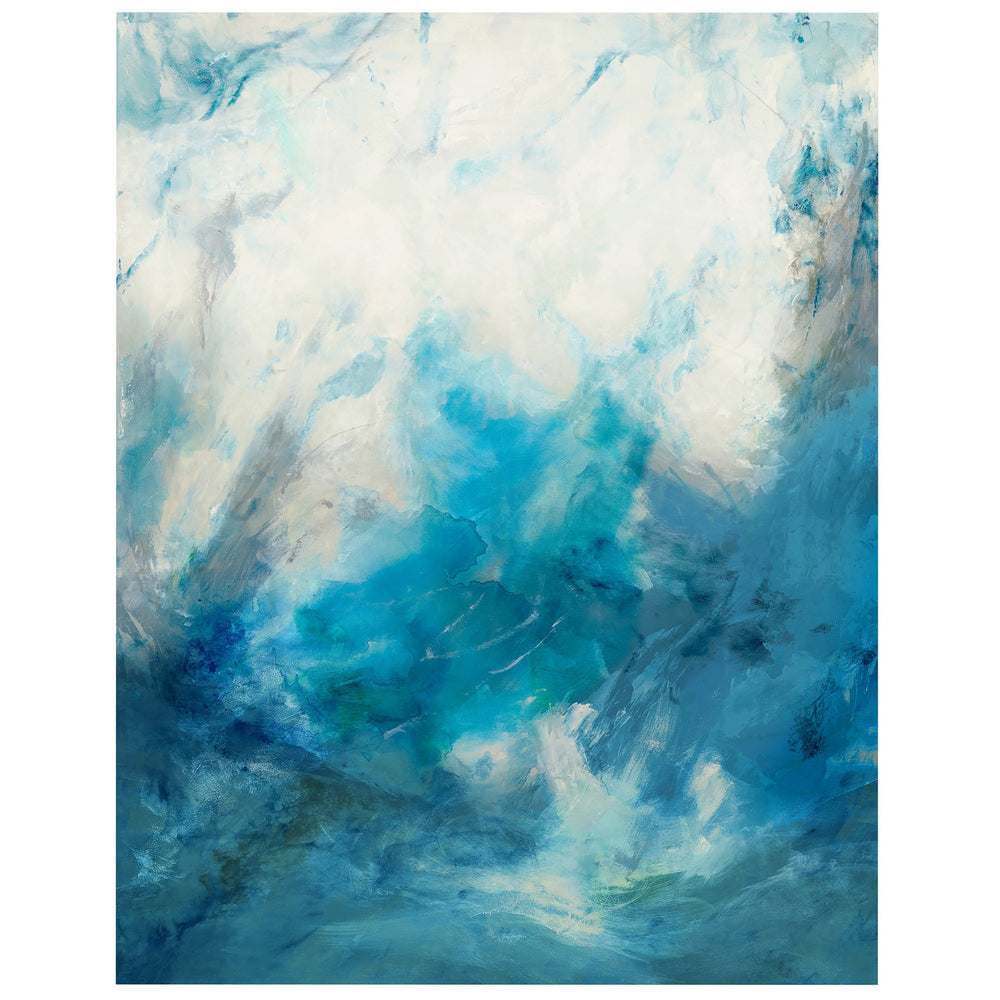 Flowing Blues - Accessories Artwork - High Fashion Home