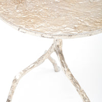 Forest Park Silver Iron Table - Furniture - Accent Tables - End Tables