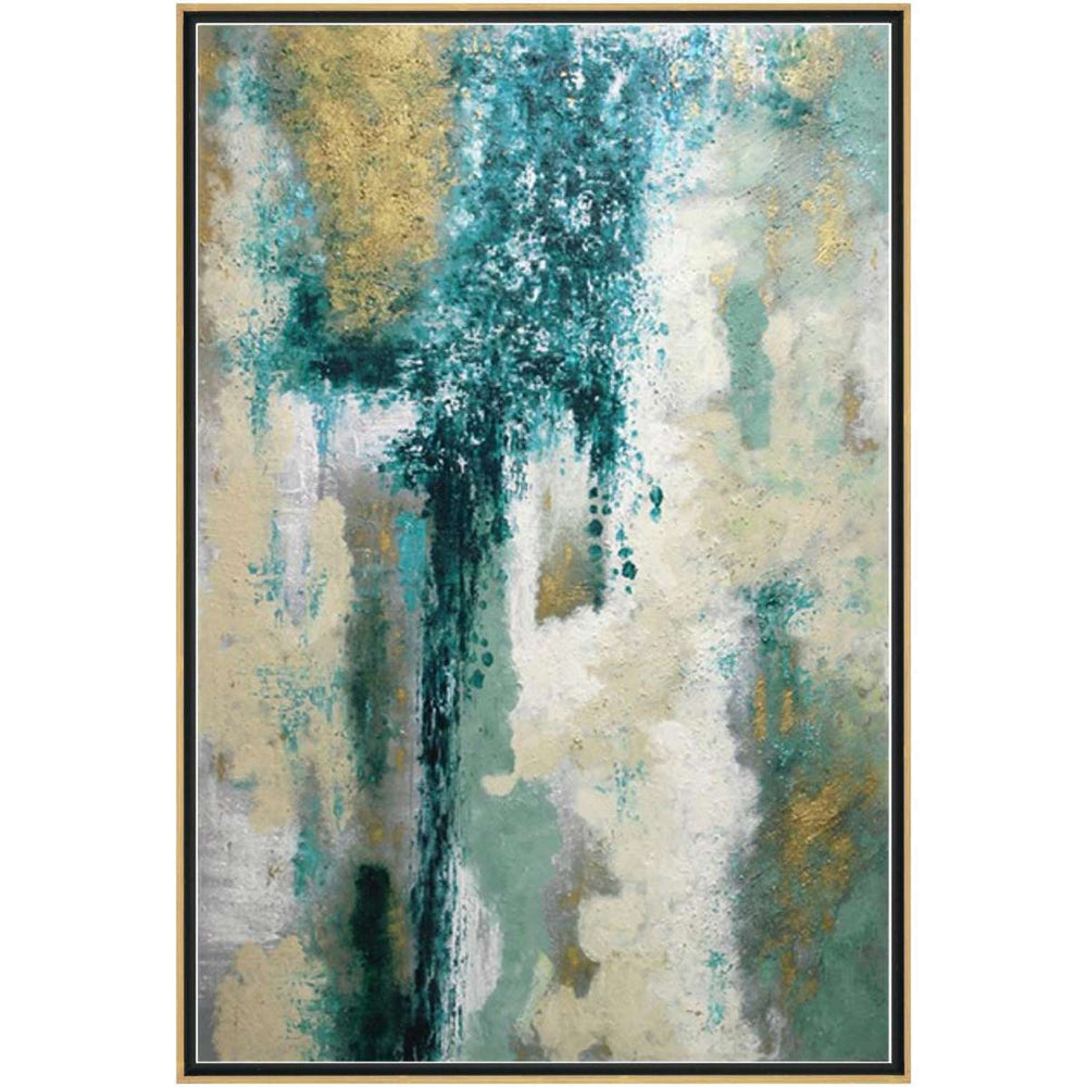 Blue View II Framed - Accessories - Canvas Art - Abstract
