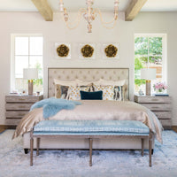 Franklin Bed - Modern Furniture - Beds - High Fashion Home