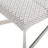 Freda Bench, Keller Grey - Furniture - Accent Tables - High Fashion Home