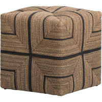 Fritz Rope Ottoman - Furniture - Chairs - High Fashion Home