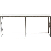 Furano Coffee Table, Zinc - Furniture - Accent Tables - Coffee Tables
