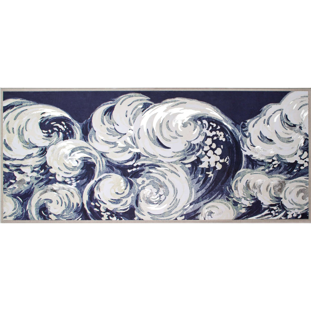 Silverleaf Wave by Natural Curiosities Framed - Accessories Artwork - High Fashion Home