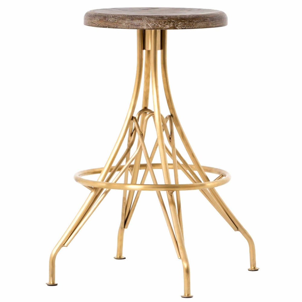 Garrett Counter Stool - Furniture - Dining - High Fashion Home