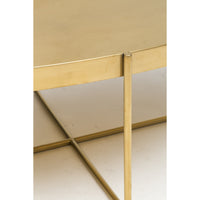 Gaultier Oval Coffee Table, Gold - Modern Furniture - Coffee Tables - High Fashion Home