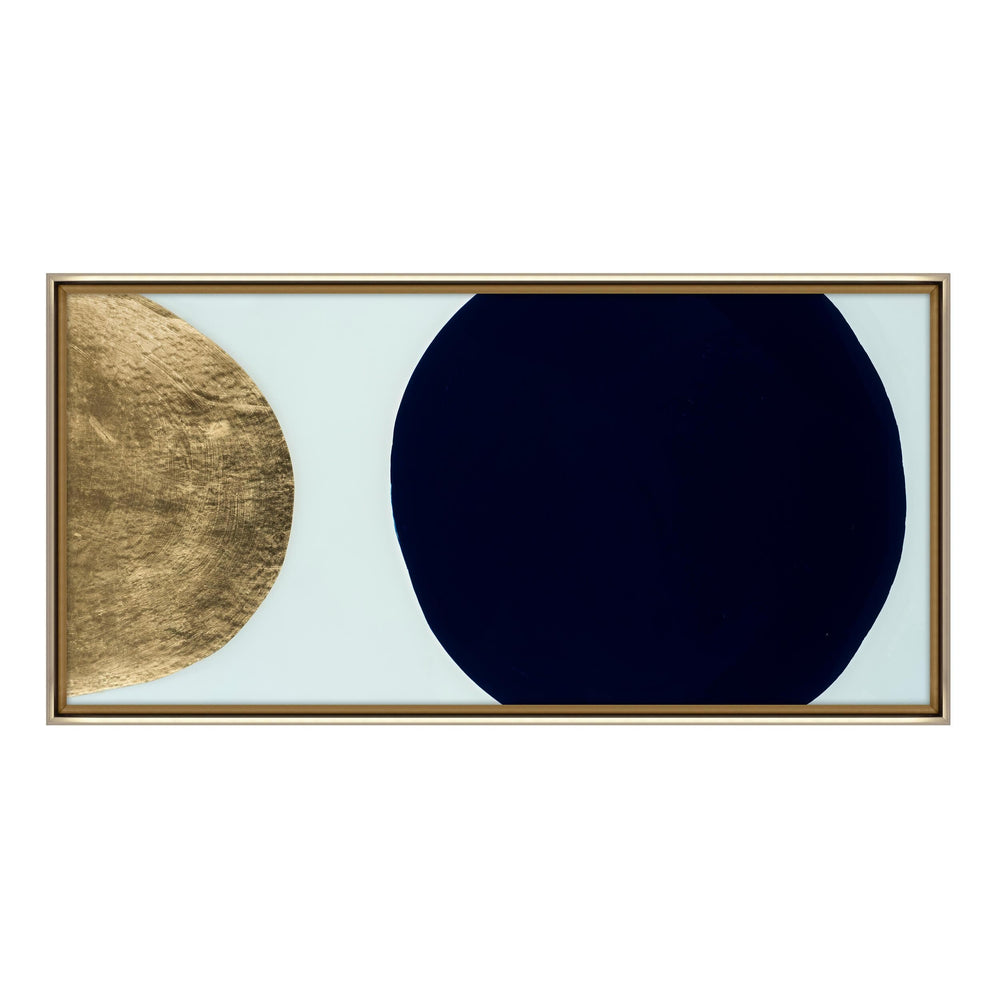 Gold and Indigo Orb - Accessories - Canvas Art - Object