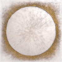 Gold Moonlight - Accessories Artwork - High Fashion Home