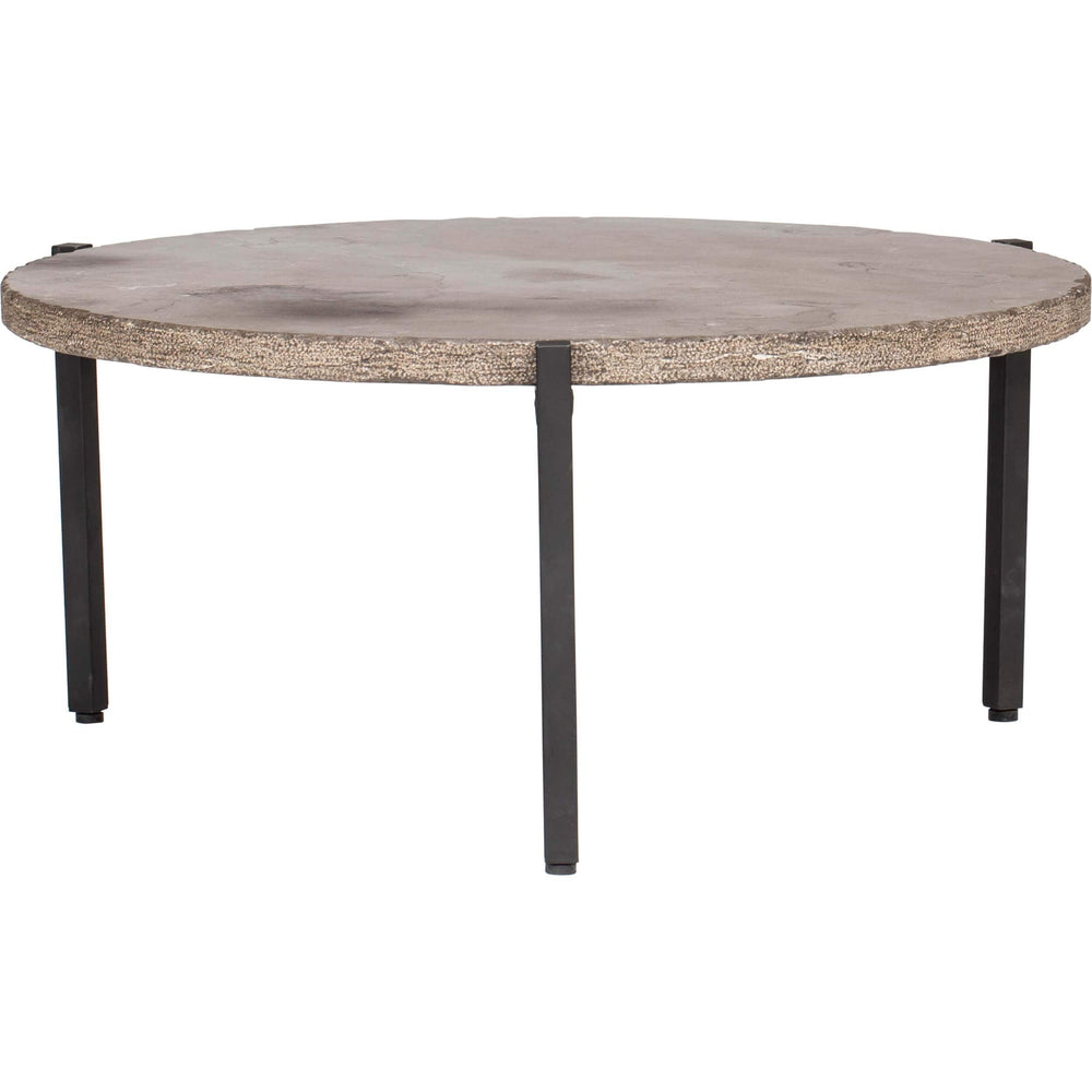 Grand Round Coffee Table - Furniture - Accent Tables - Coffee Tables