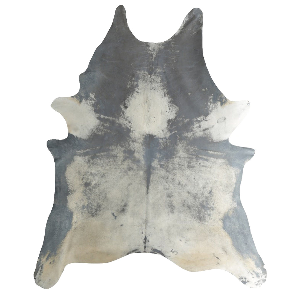 Acidwash on Natural Cowhide, Grey Distress - Accessories - Rugs - Cowhide Rugs