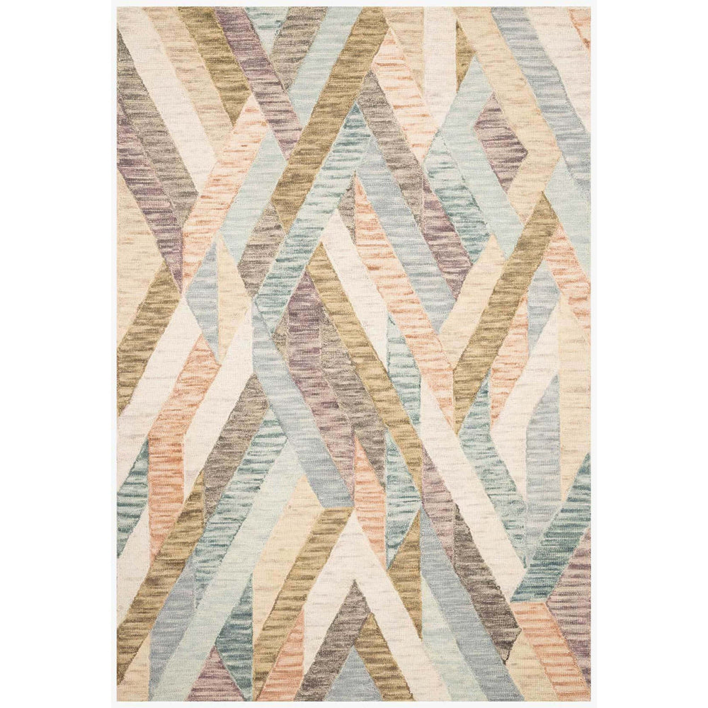 Loloi Rug Hallu HAL-03, Sunrise/Mist - Rugs1 - High Fashion Home