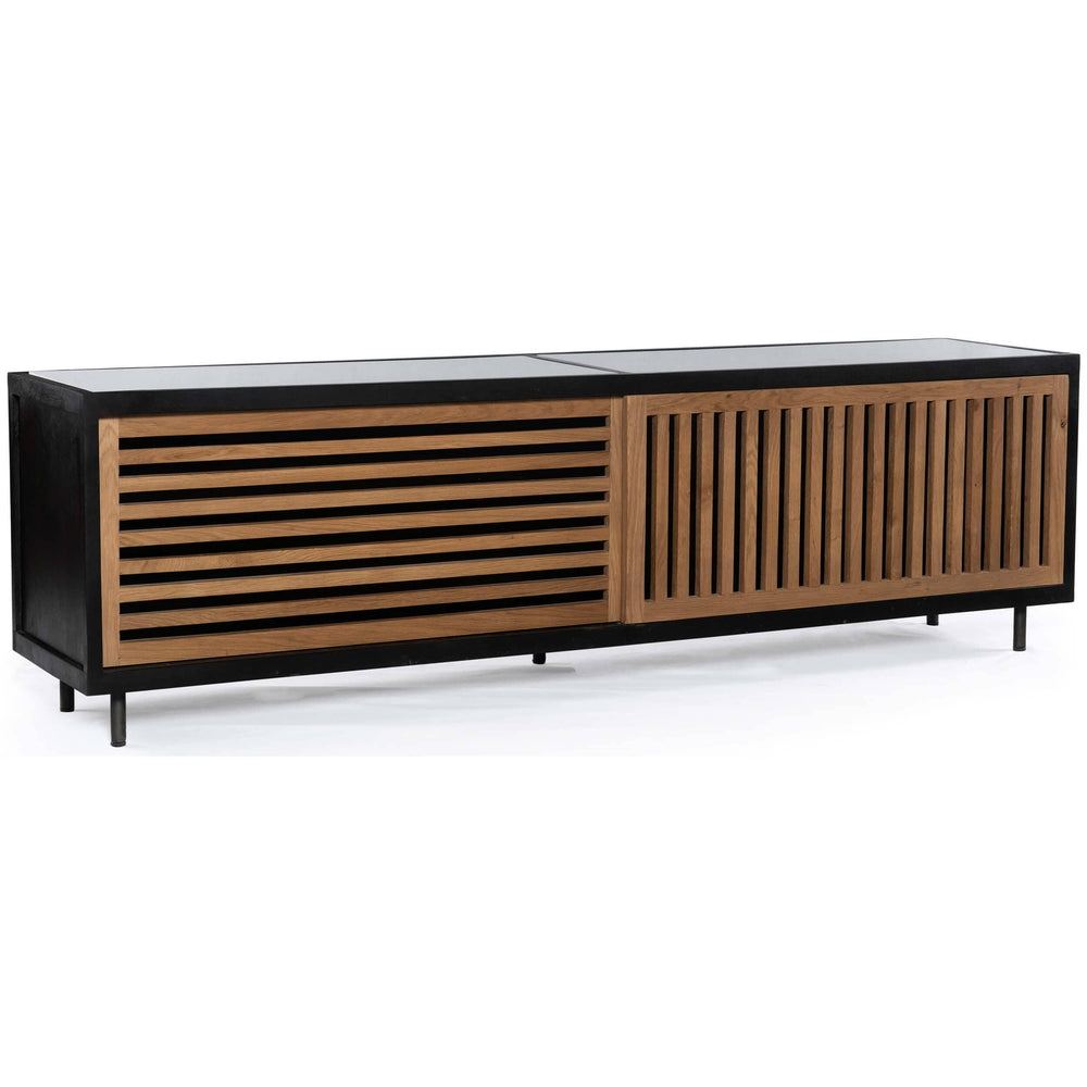 Haverton Media Console - Furniture - Accent Tables - High Fashion Home
