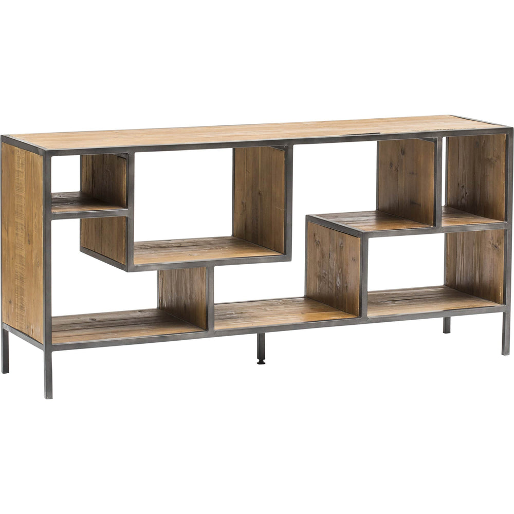 Helena Console Bookcase - Furniture - Storage - High Fashion Home