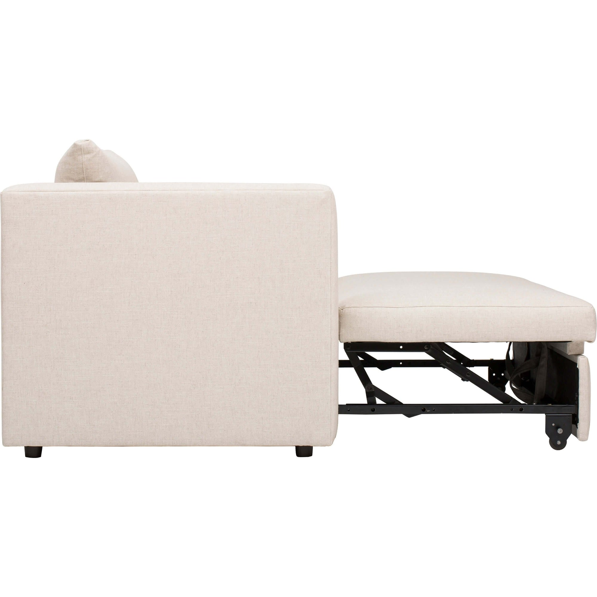 Pleasing Dempsey Trundle Bed Sofa Crevere Creme High Fashion Home Short Links Chair Design For Home Short Linksinfo