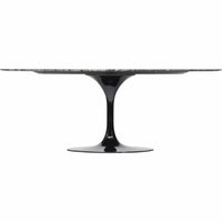 Echo Dining Table, Black Marble - Modern Furniture - Dining Table - High Fashion Home