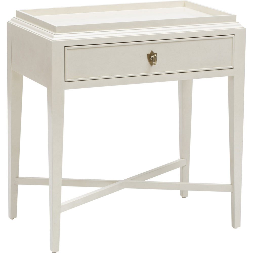 Salon One Drawer Nightstand - Furniture - Bedroom - High Fashion Home