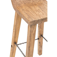 Arturo Low Back Bar Stool - Furniture - Dining - Dining Stools