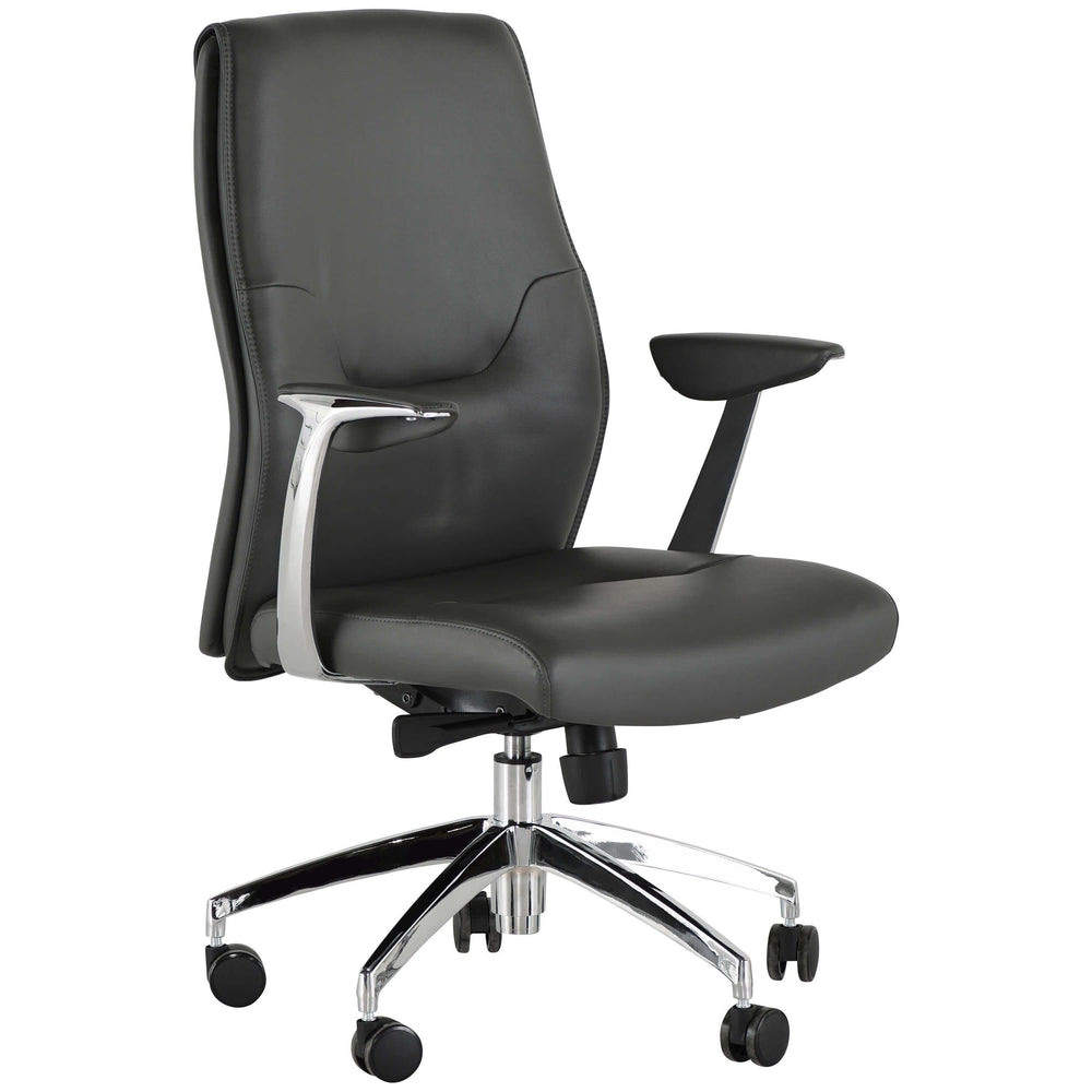 Klause Office Chair, Grey - Furniture - Office - High Fashion Home