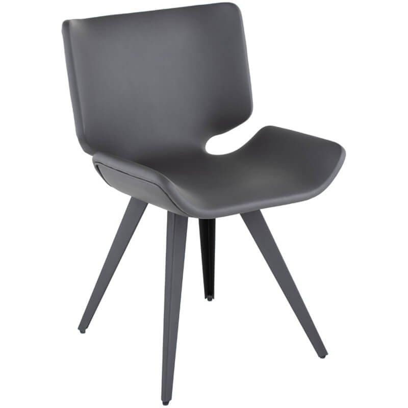Astra Dining Chair, Grey - Furniture - Dining - High Fashion Home