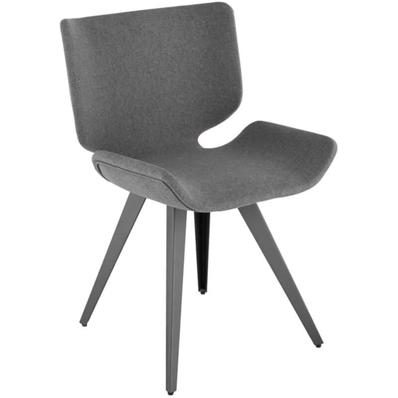 Astra Dining Chair, Shale Grey - Furniture - Dining - High Fashion Home
