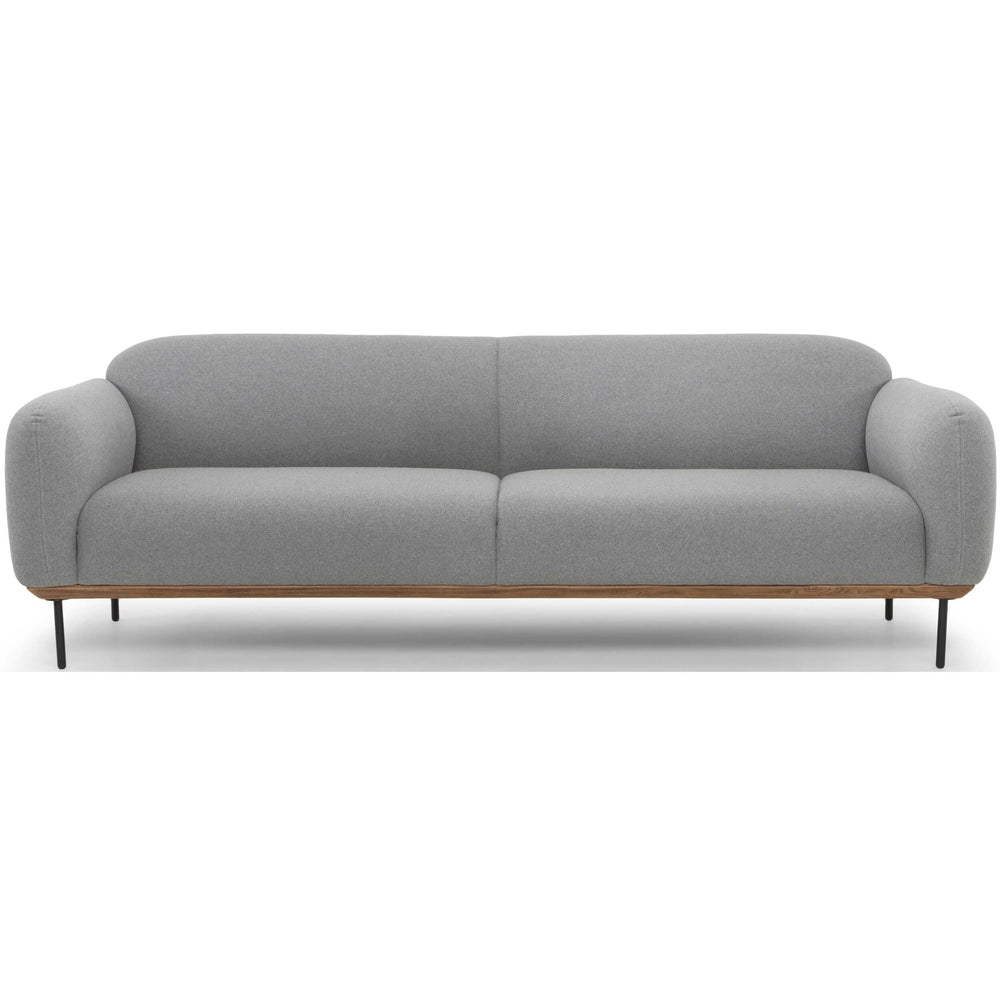 Benson Sofa, Light Grey - Furniture - Sofas - Fabric