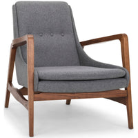 Enzo Chair, Shale Grey - Furniture - Chairs - Fabric