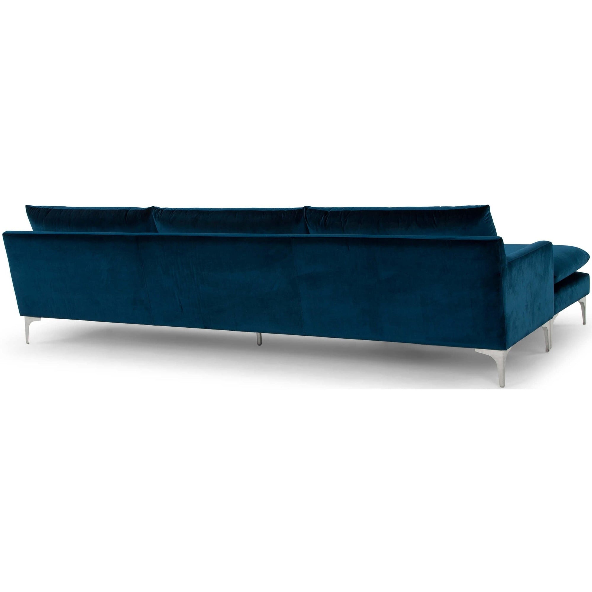 Superb Anders Sectional Midnight Blue High Fashion Home Camellatalisay Diy Chair Ideas Camellatalisaycom