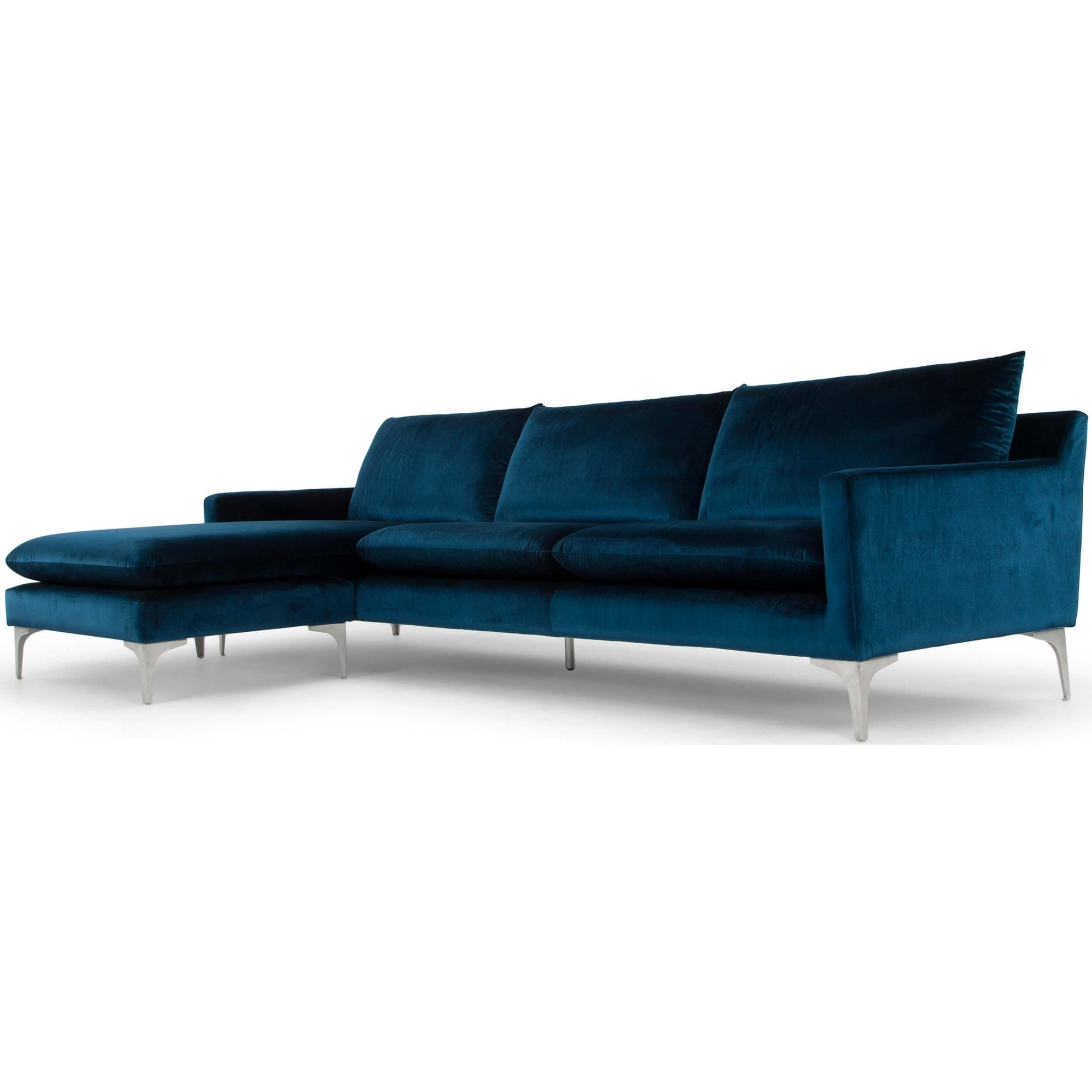 Terrific Anders Sectional Midnight Blue High Fashion Home Camellatalisay Diy Chair Ideas Camellatalisaycom
