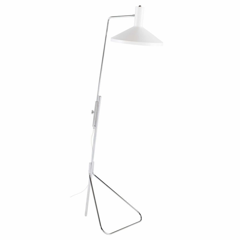 Conran Floor Lamp, White
