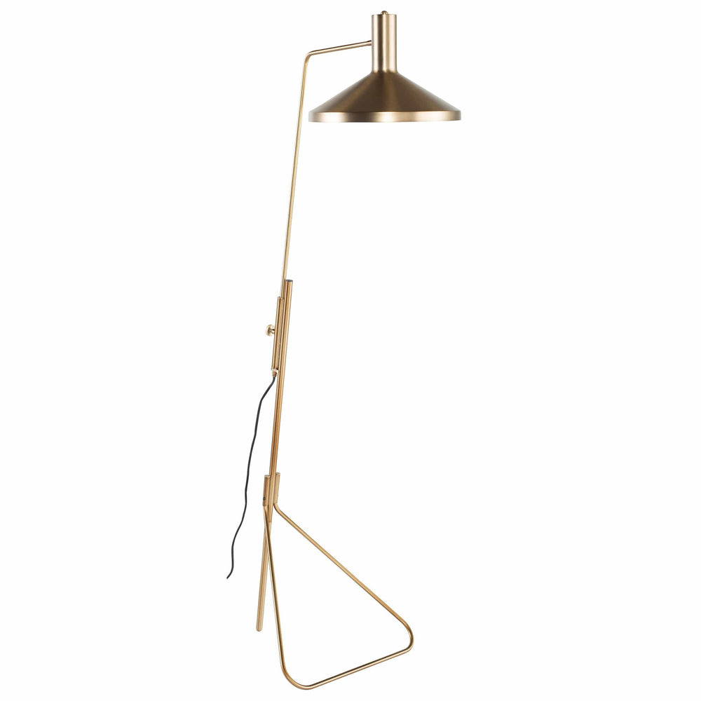 Conran Floor Lamp, Gold - Lighting - High Fashion Home