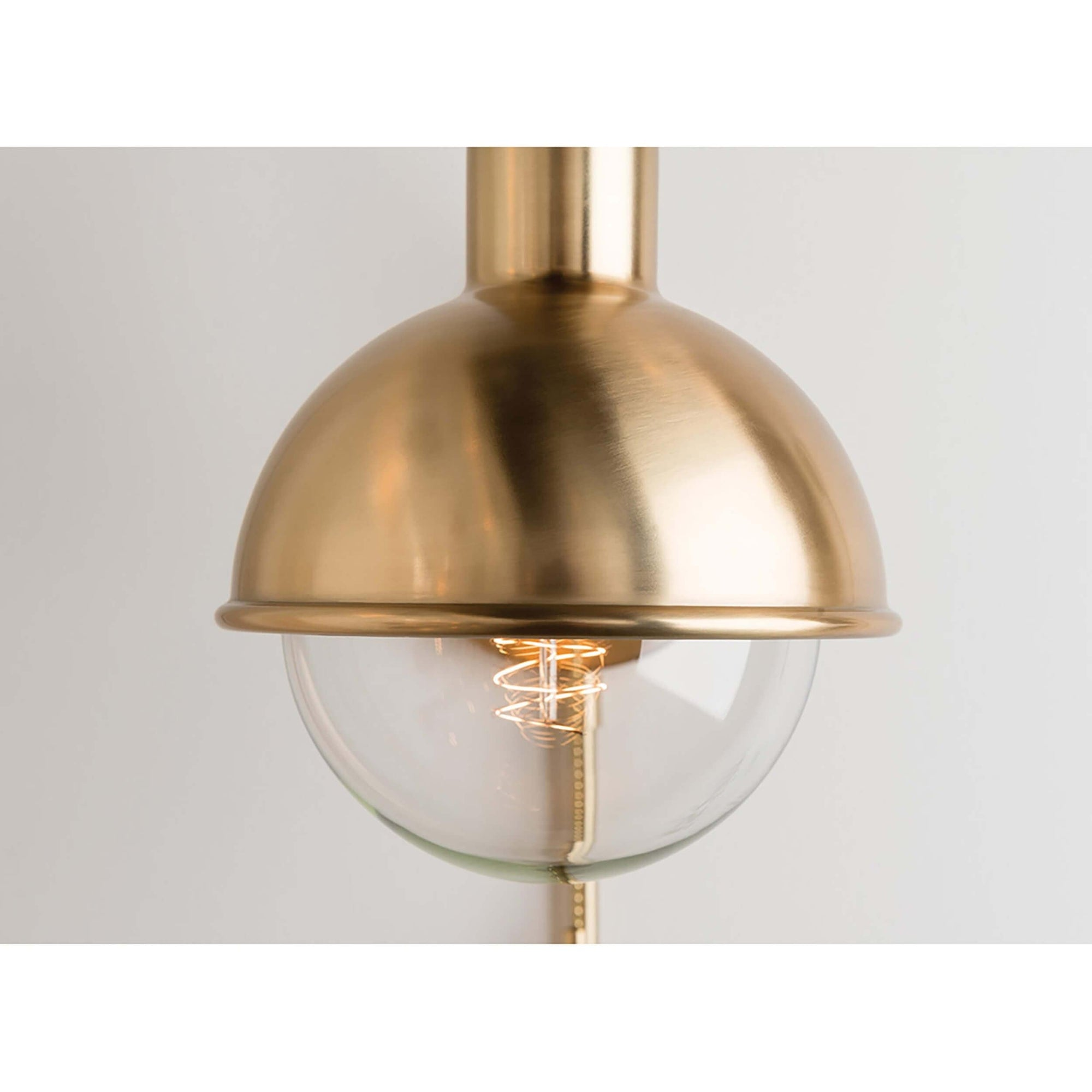 Riley Wall Sconce, Aged Brass - High Fashion Home on Aged Brass Wall Sconce id=74916
