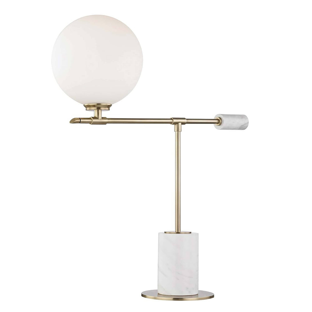 Bianca Table Lamp, Aged Brass - Lighting - High Fashion Home
