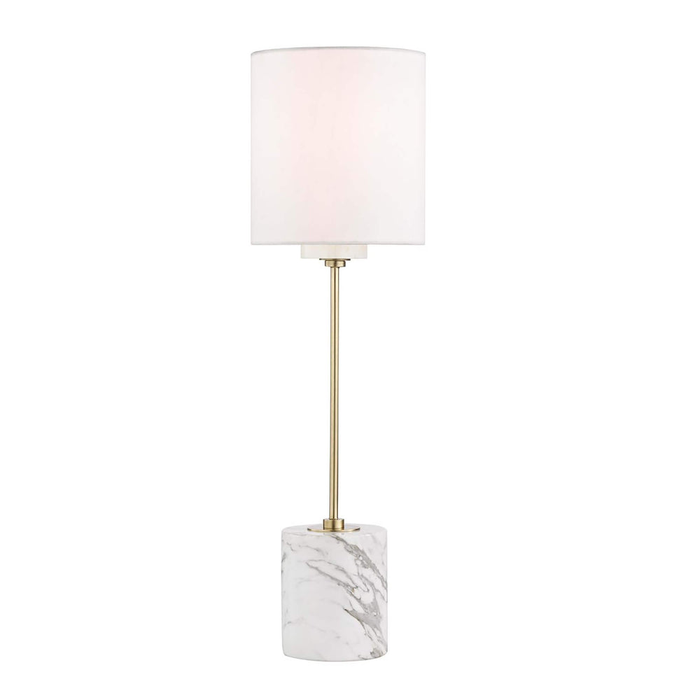 Fiona Table Lamp, Aged Brass - Lighting - High Fashion Home