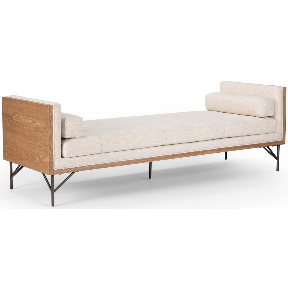 Holden Chaise, Thames Cream - Furniture - Sofas - High Fashion Home