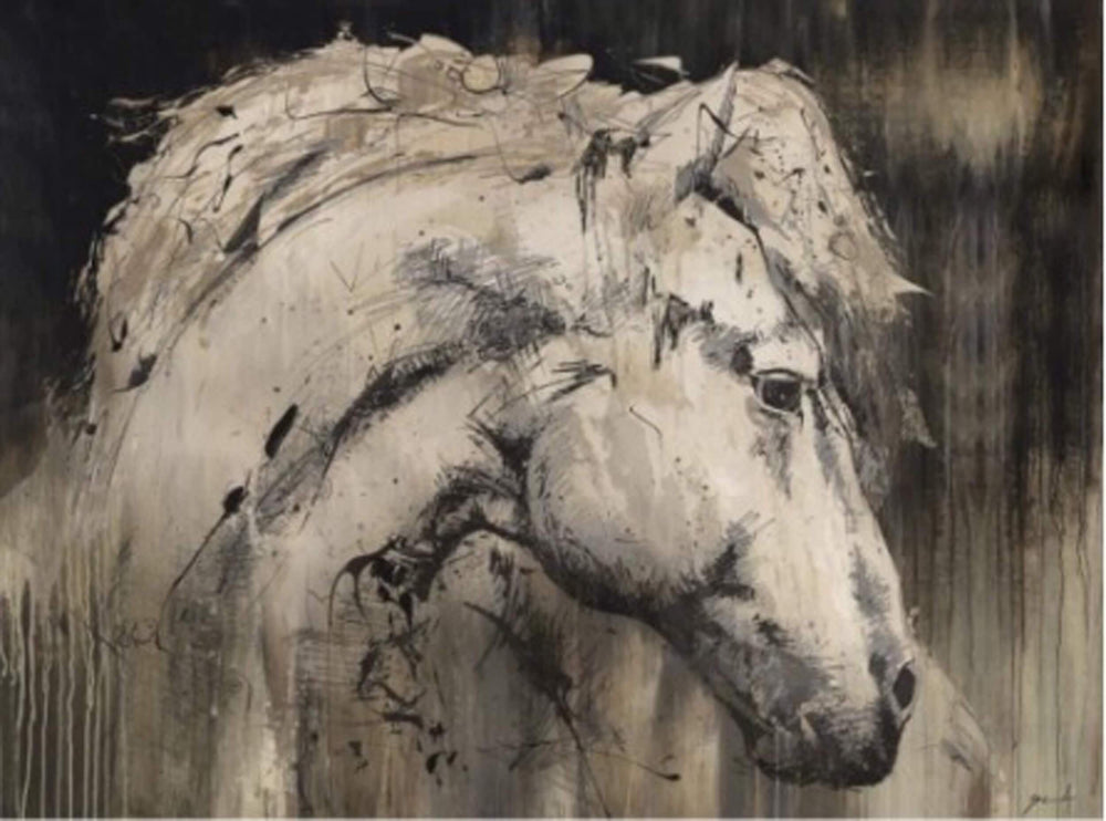 Horse With No Name II - Accessories - Canvas Art - Animal