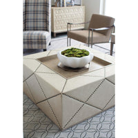 Santa Barbara Square Cocktail Ottoman - Furniture - Accent Tables - High Fashion Home