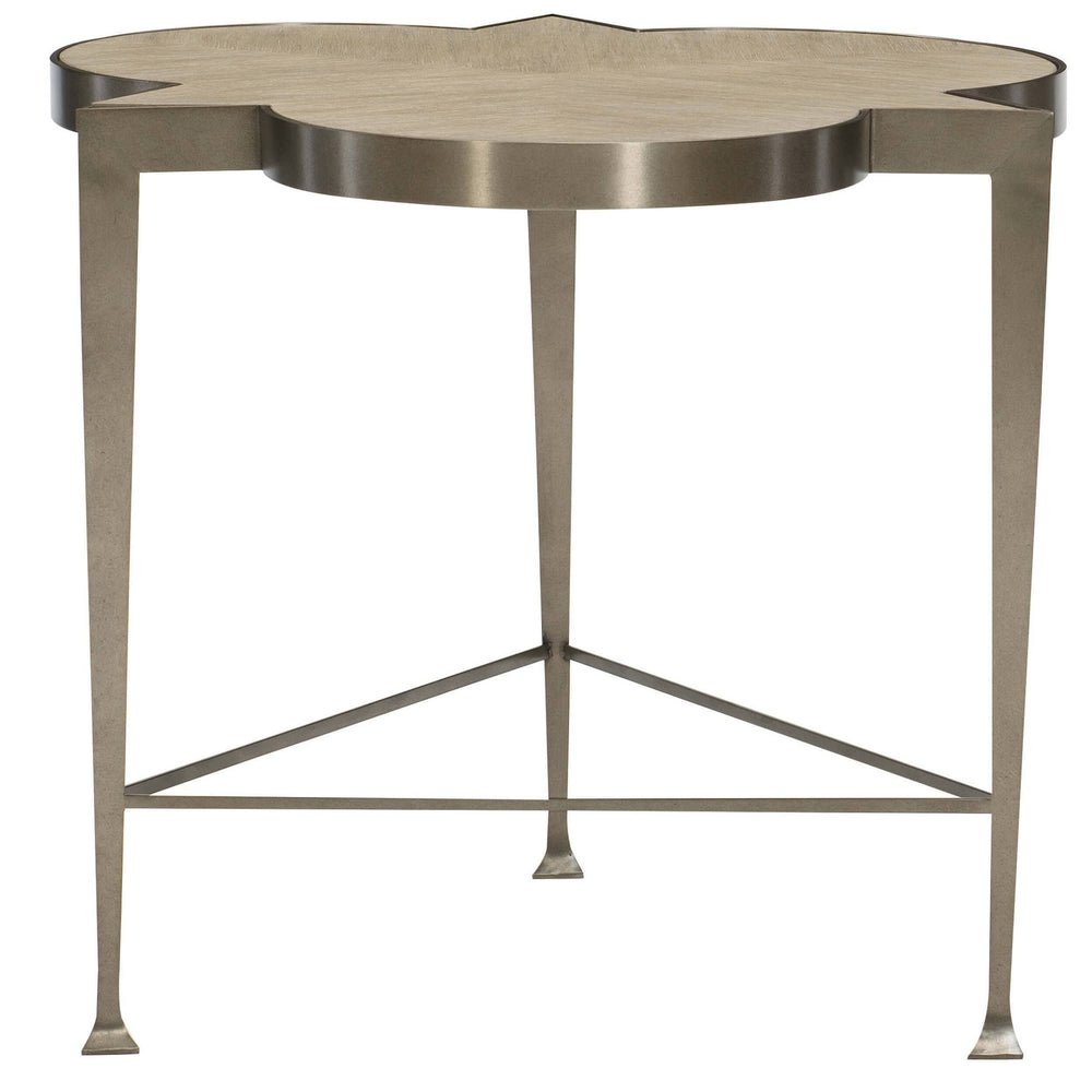 Santa Barbara Chairside Table - Furniture - Accent Tables - High Fashion Home