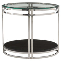 Caden Oval End Table - Furniture - Accent Tables - High Fashion Home